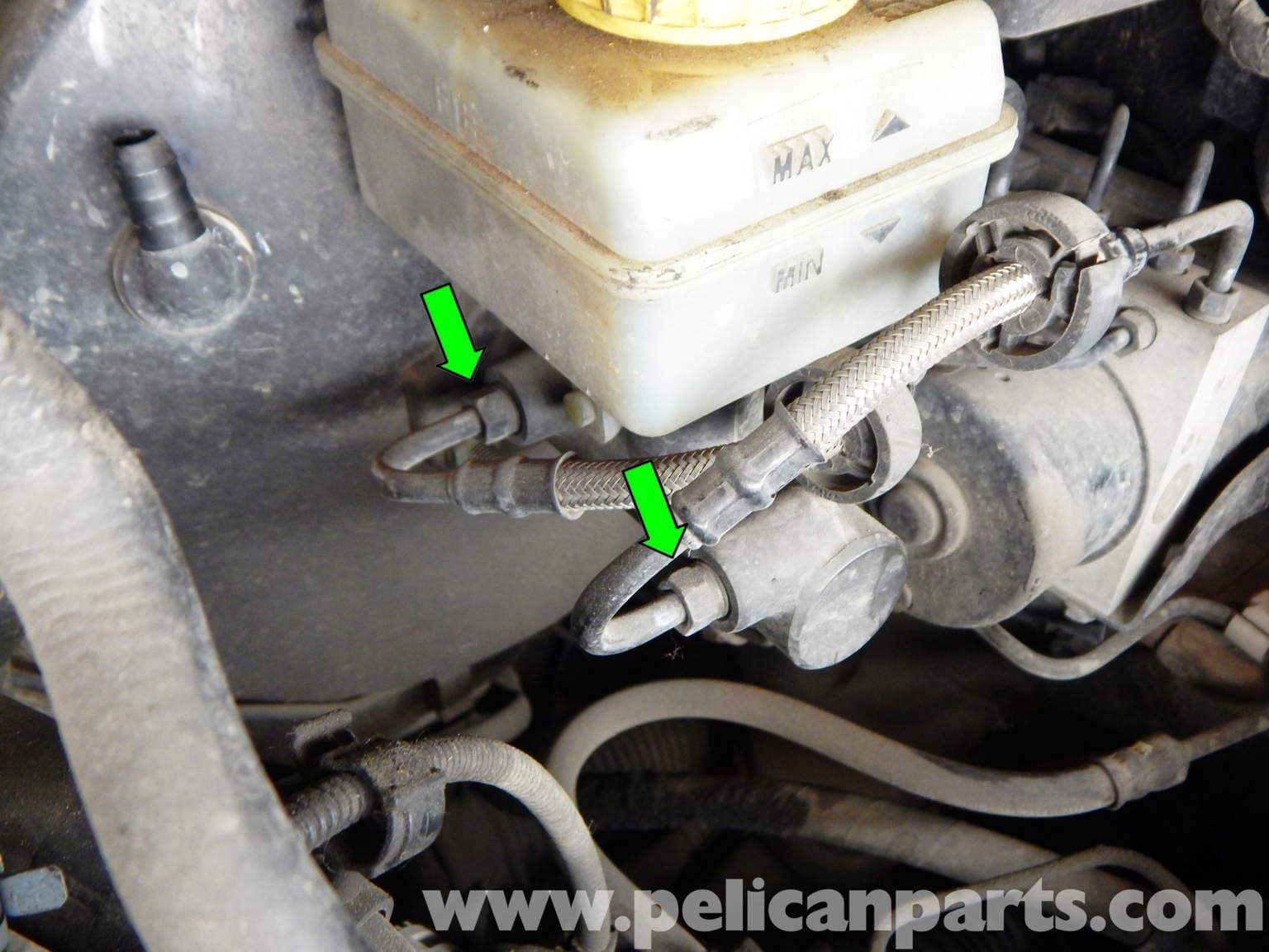 Volkswagen Jetta Mk4 Master Cylinder Replacement   Jetta Mk4 2.0L (1998-2005)   Pelican Parts ...