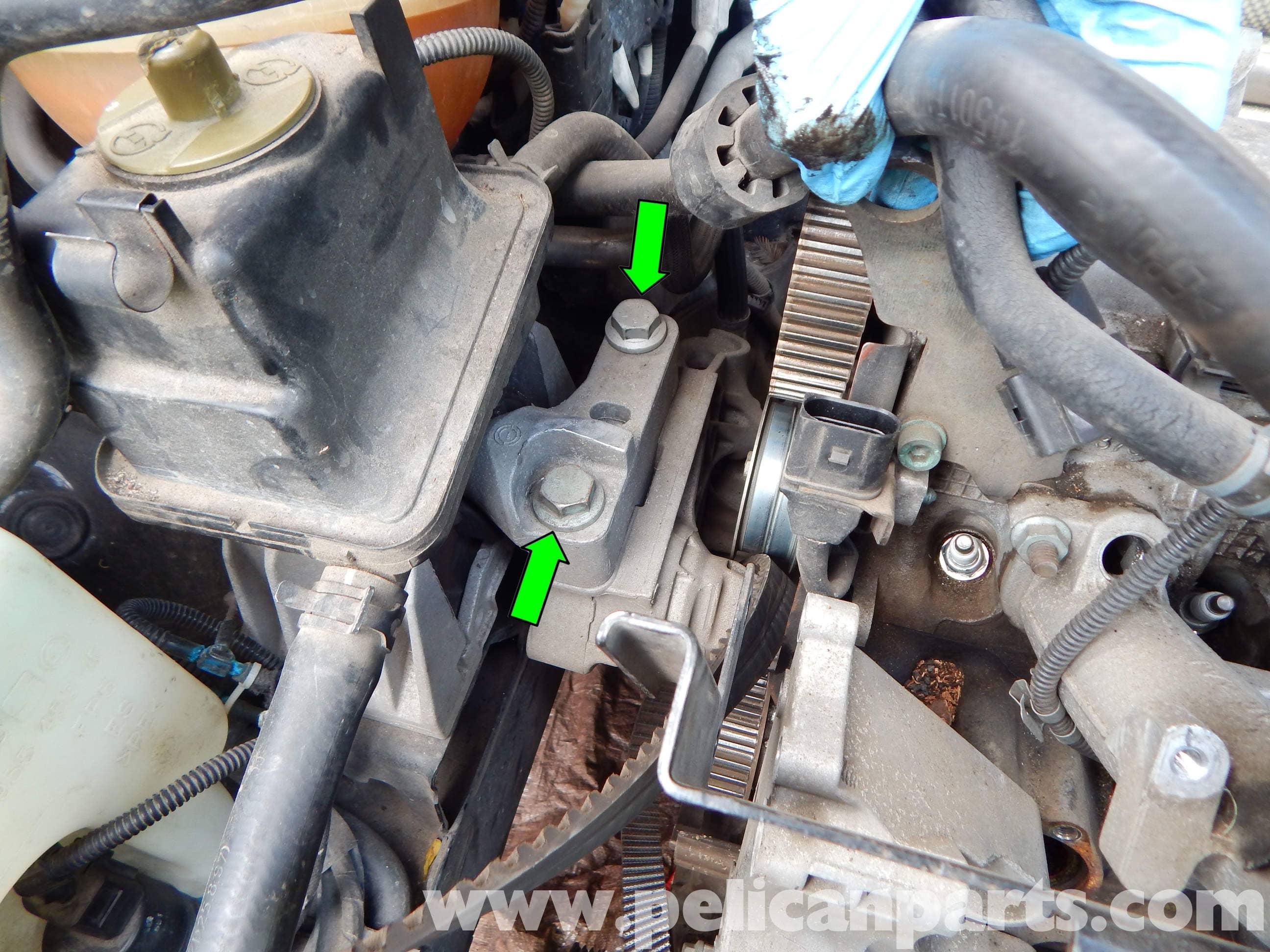 Volkswagen Jetta Mk4 Upper Engine Mount Replacement ...