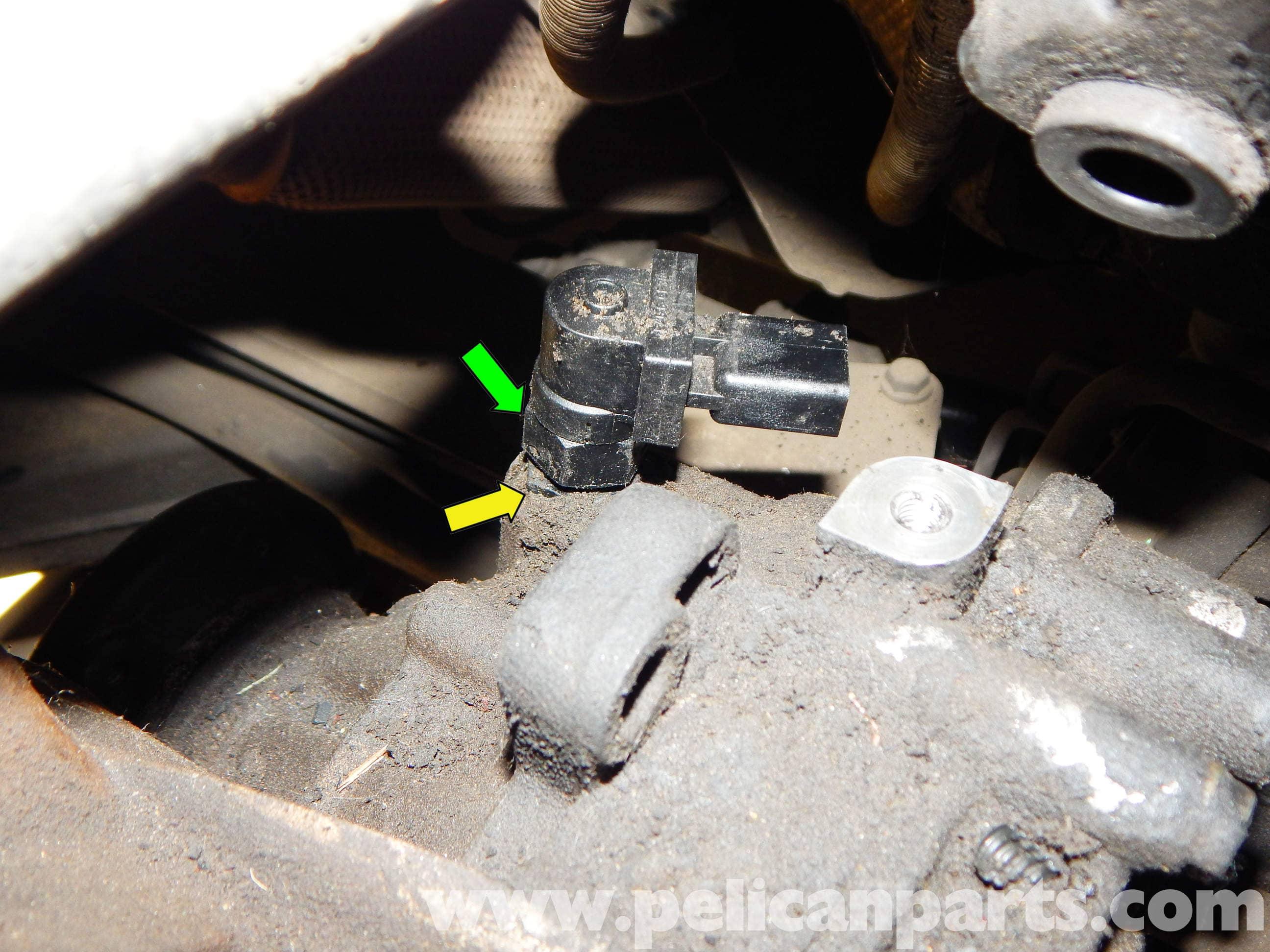 Volkswagen Jetta Mk4 Vehicle Speed Sensor Replacement