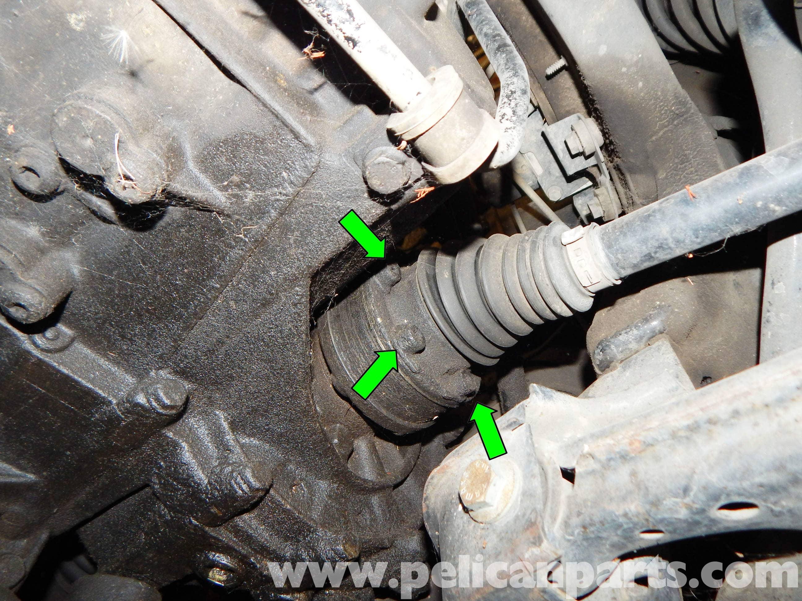 Volkswagen Jetta Mk4 Axle Replacement   Jetta Mk4 2 0L (1998-2005