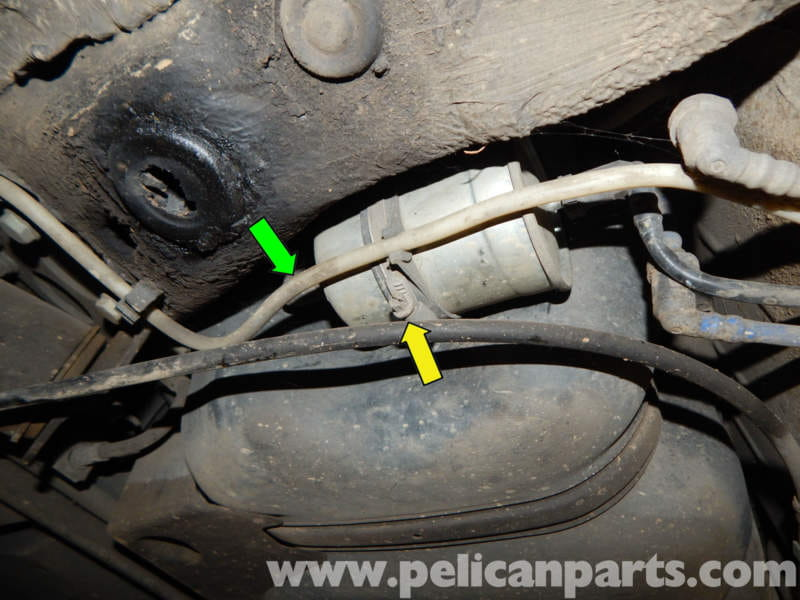Volkswagen Jetta Mk4 Fuel Filter Replacement 20l 1998 Rhpelicanparts: 2001 Jetta Fuel Filter Location At Oscargp.net