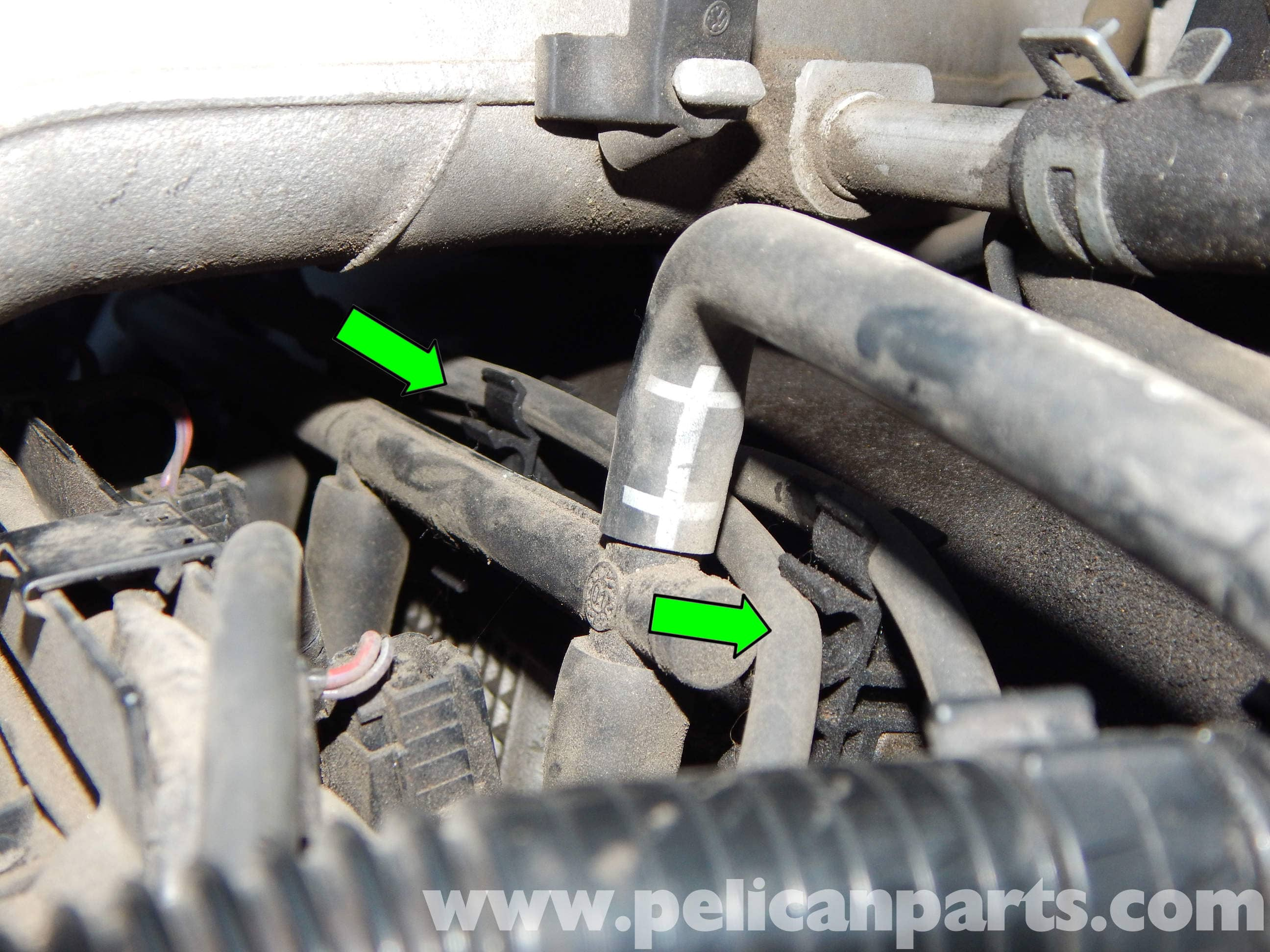 Volkswagen Jetta Mk4 Coil Pack And Spark Plug Wire Replacement 2014 Wiring Diagram Large Image Extra
