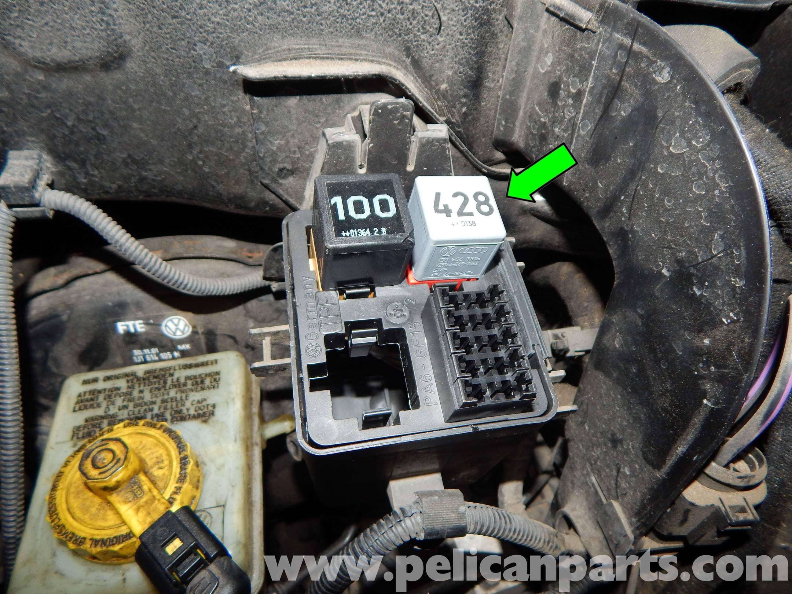 Volkswagen Jetta Mk4 Main Relay Replacement | Jetta Mk4 2.0L (1998-2005) | Pelican Parts DIY ...