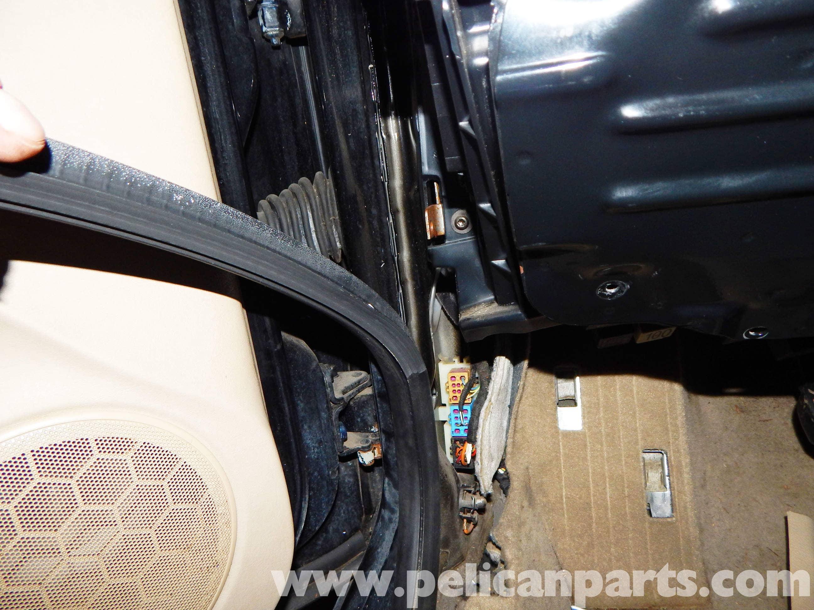 Volkswagen Jetta Mkiv Front Door Seal Replacement 1999