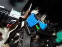 Rotate the switch counter-clockwise to release it from the pedal assembly.