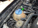 You'll need to fill the system from the coolant expansion tank.