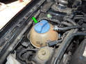 Shown here is the location of the CET on the Mk4 Jetta 2.