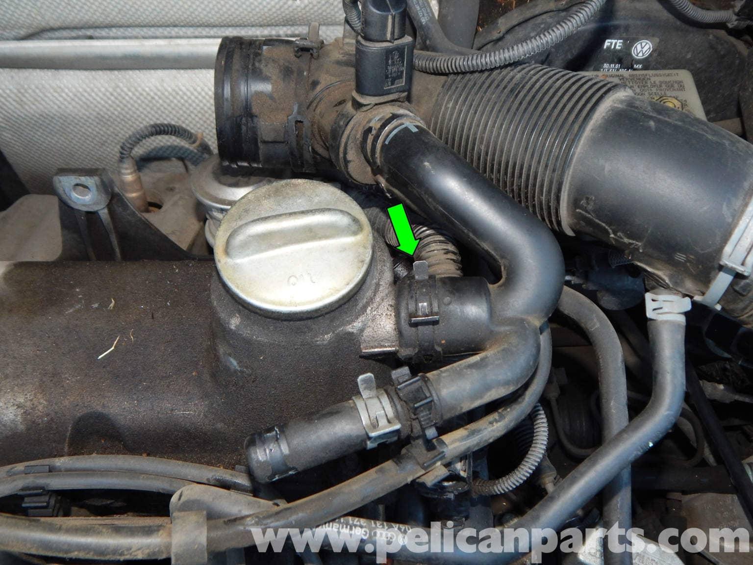 Volkswagen Jetta Mk4 Valve Cover Gasket Replacement