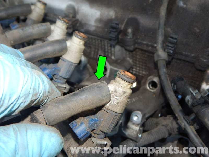 O Ring Lubricant >> Volkswagen Jetta Mk4 Fuel Injector Replacement | Jetta Mk4 ...