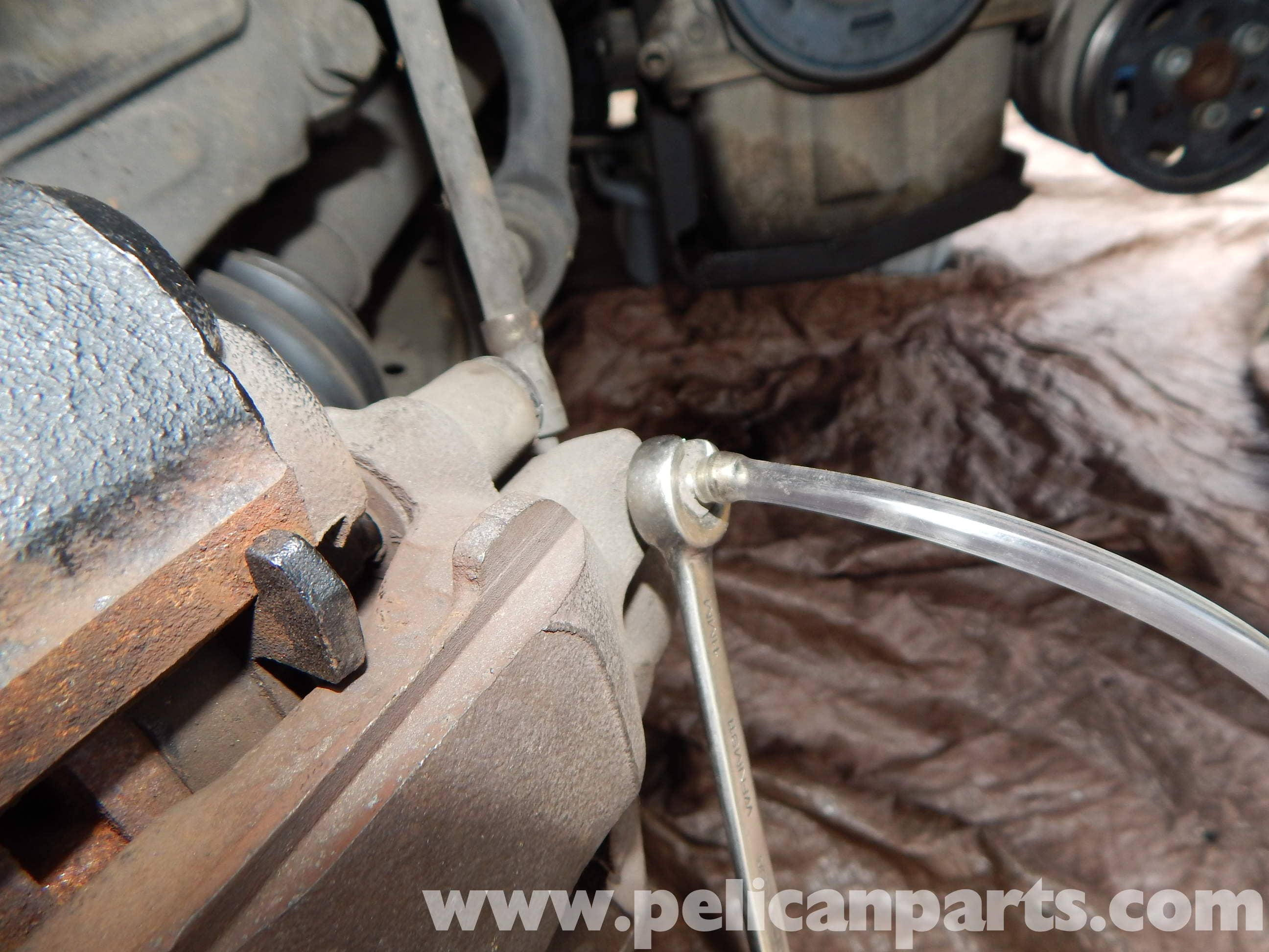 Volkswagen Jetta Mk4 Bleeding Brakes | Jetta Mk4 2 0L (1998