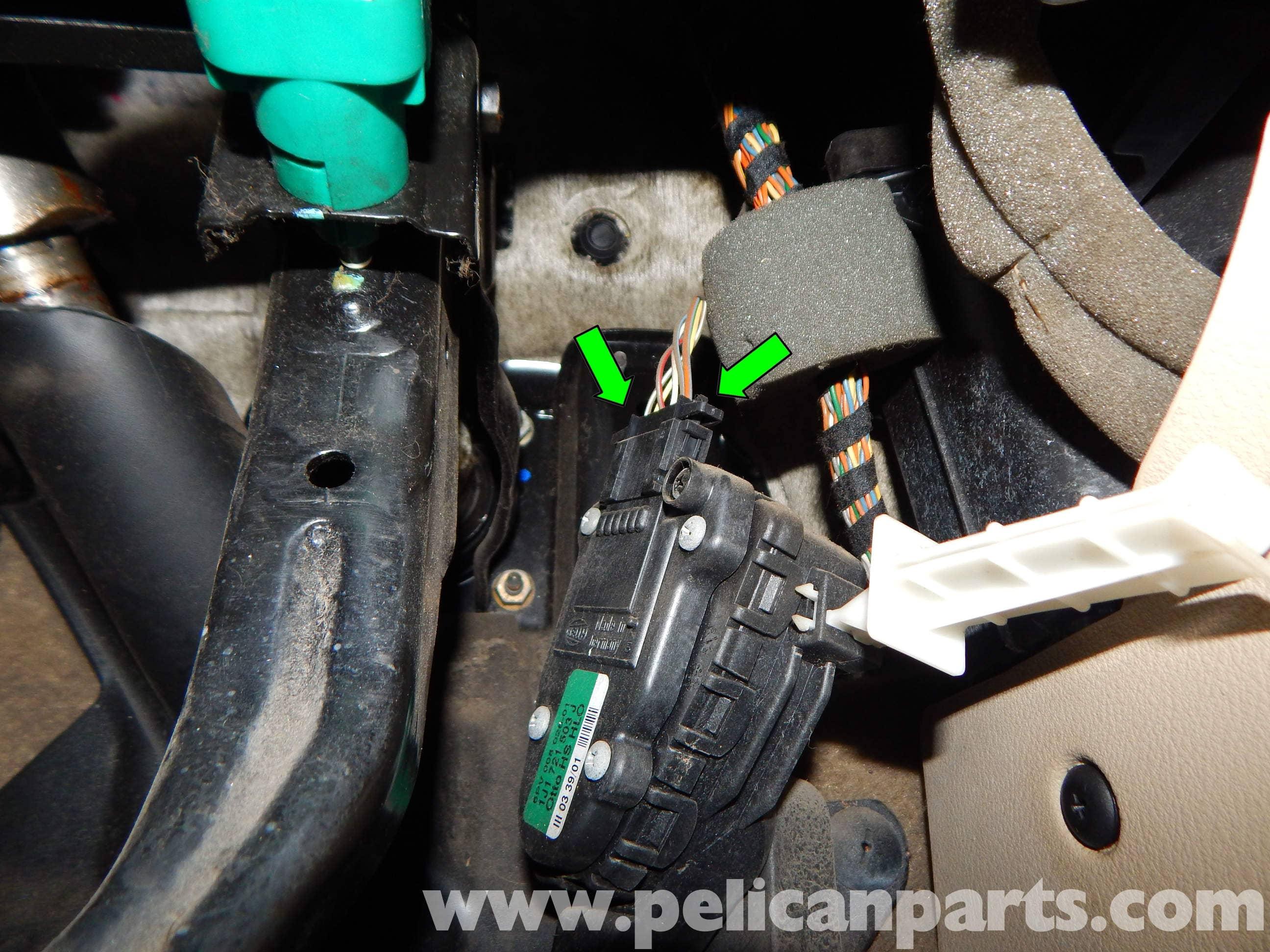 Volkswagen Jetta Mk4 Accelerator Pedal Module Replacement