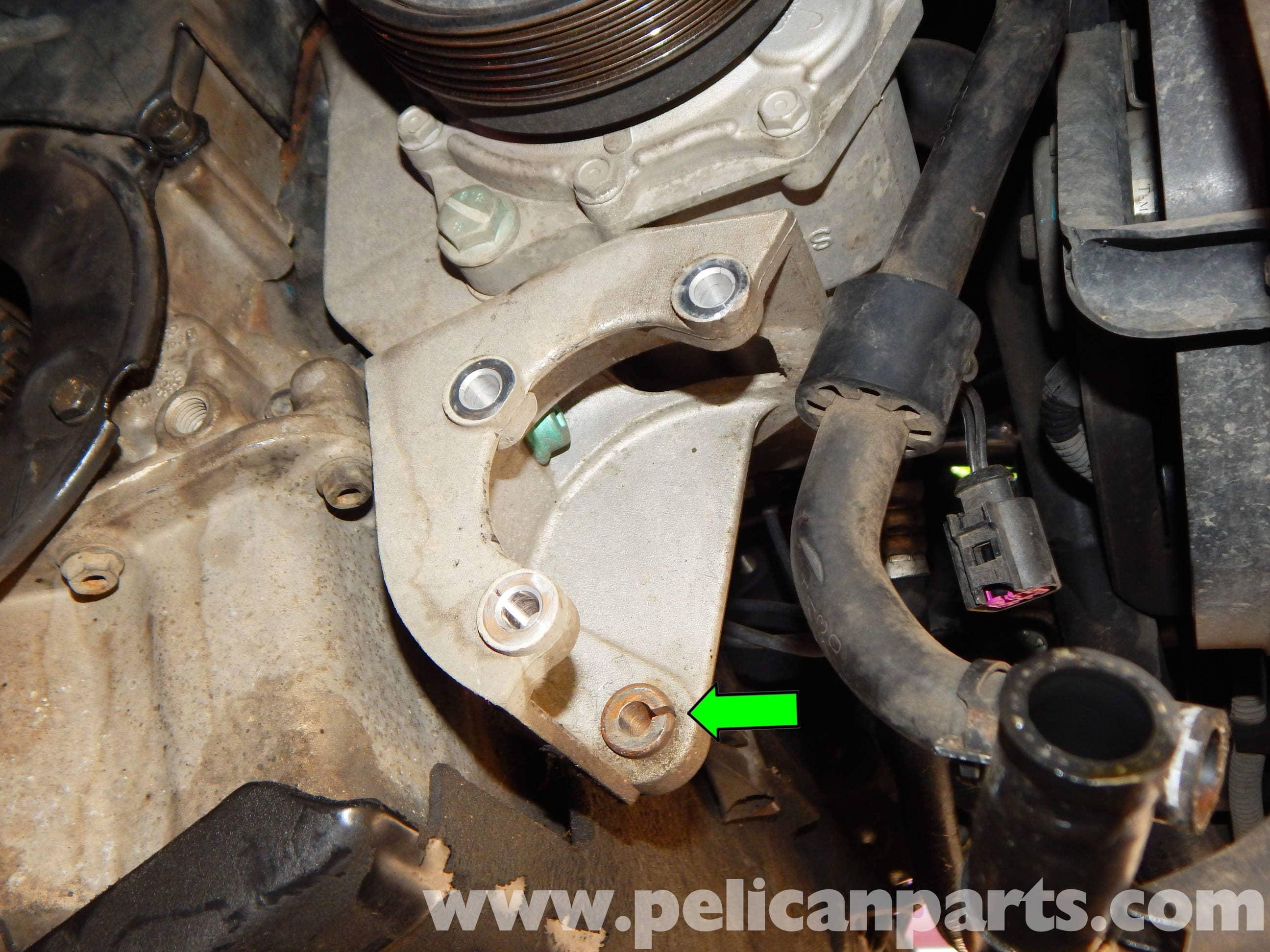 volkswagen jetta mk power steering pump replacement jetta mk    pelican