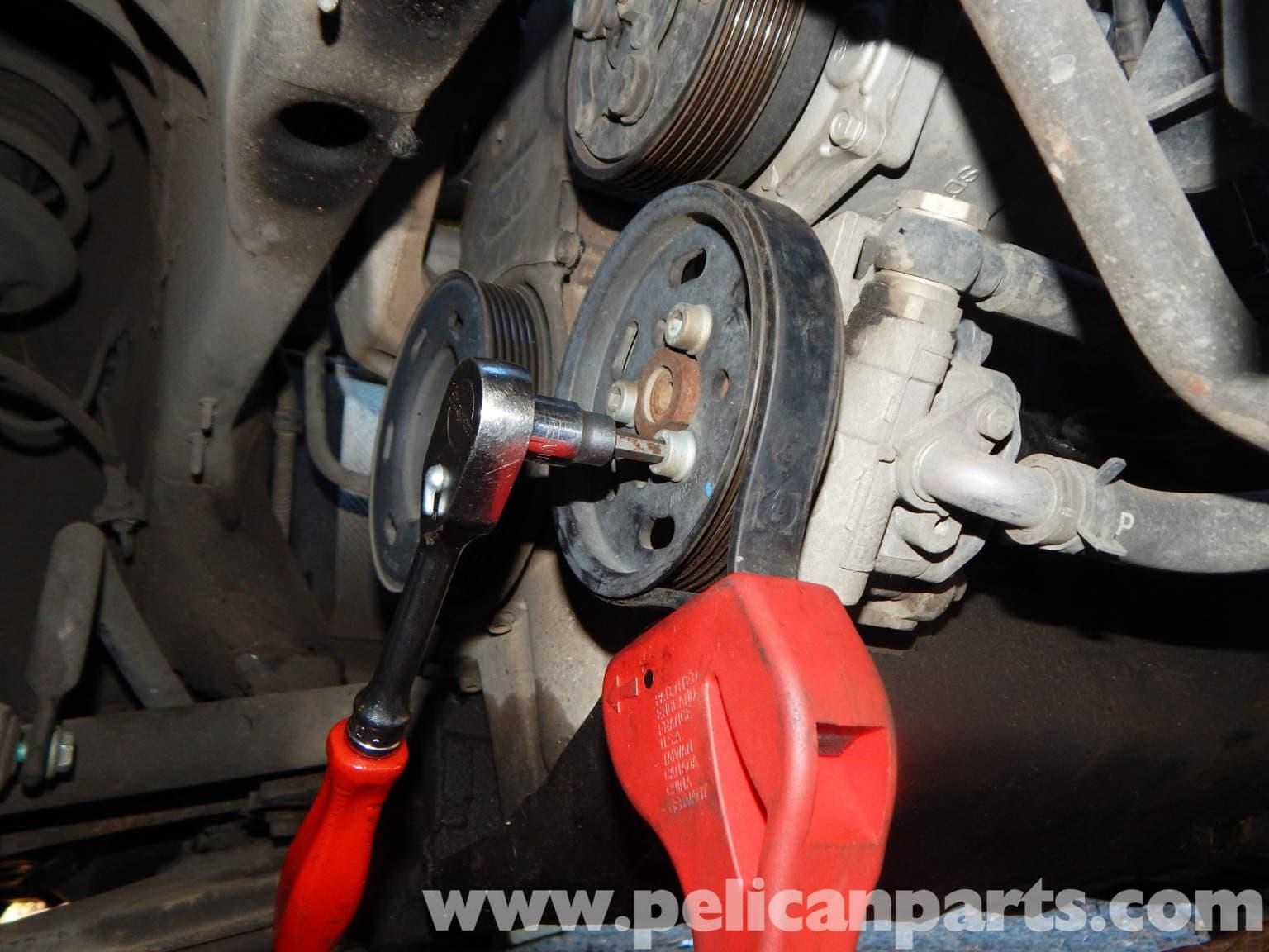 Volkswagen Jetta Mk4 Power Steering Pump Replacement