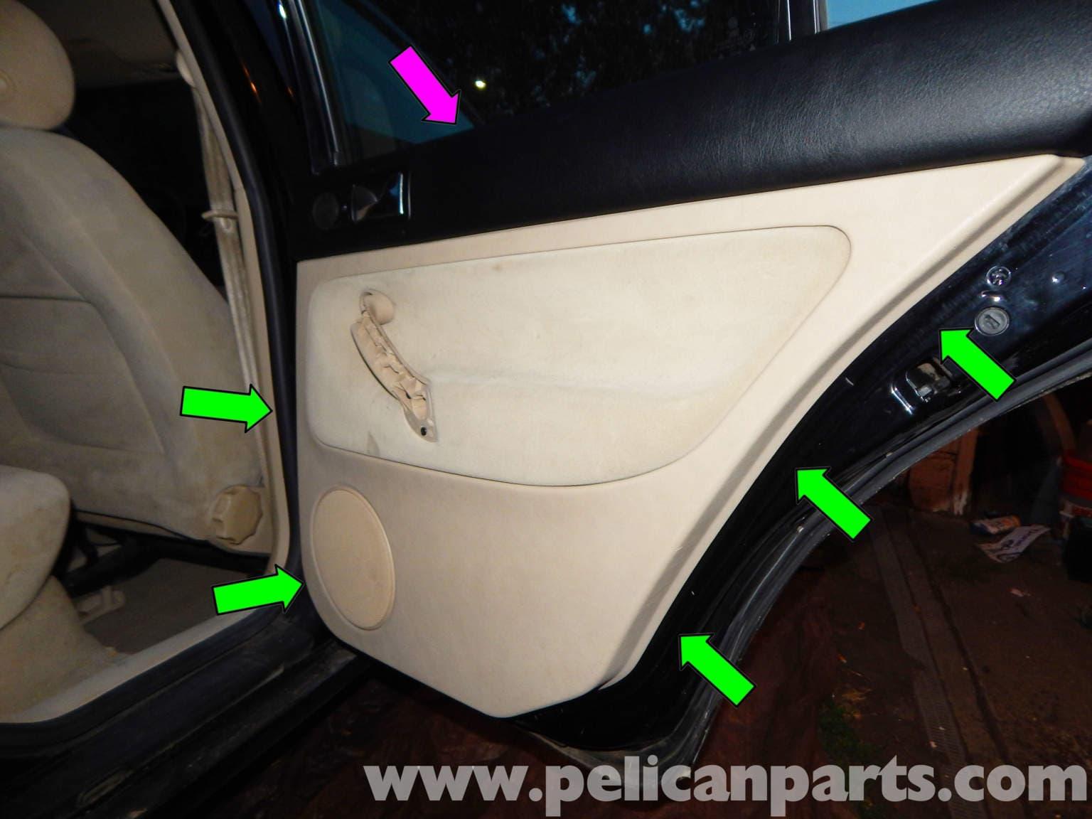 Volkswagen Jetta Mk4 Rear Door Panel Removal Jetta Mk4 2