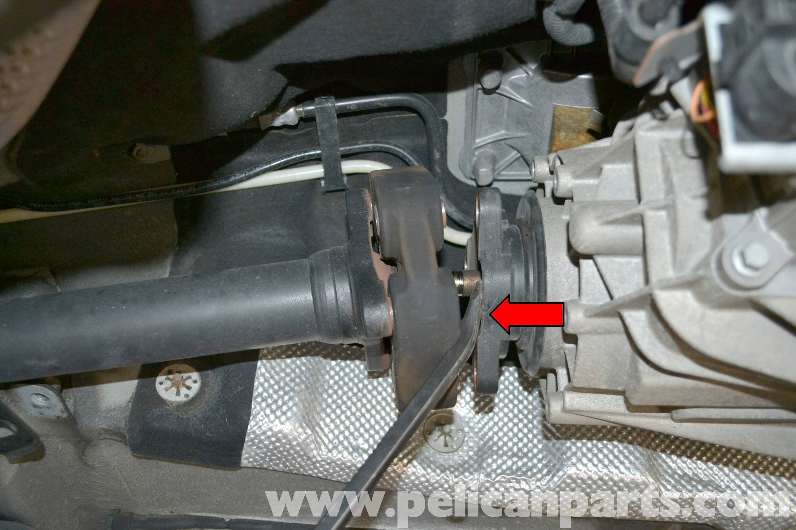 Pelican Parts Technical Article - Volkswagen Touareg - Prop