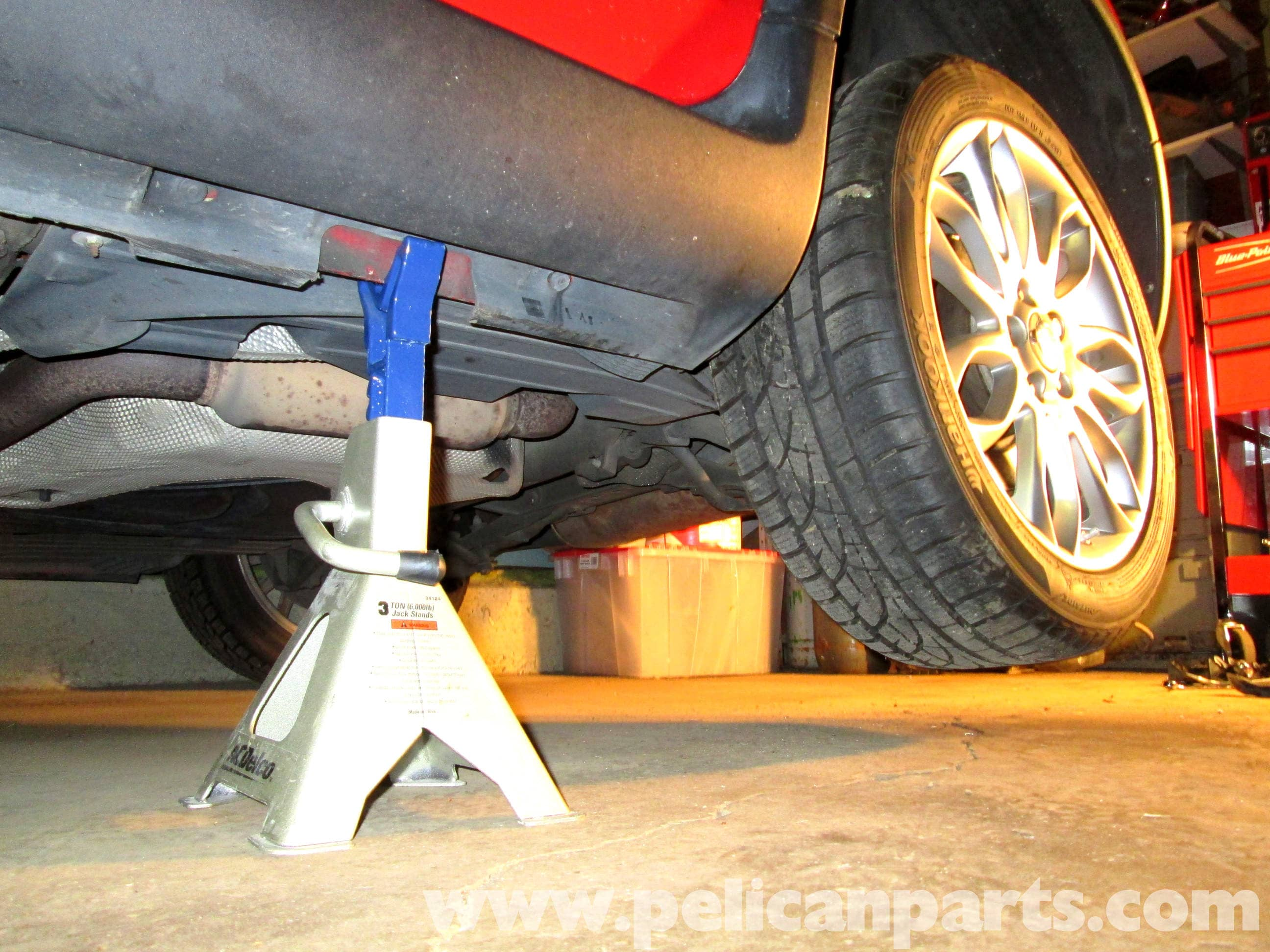 Jacking Up The Volvo C30 (2007-2013) - Pelican Parts DIY Maintenance Article