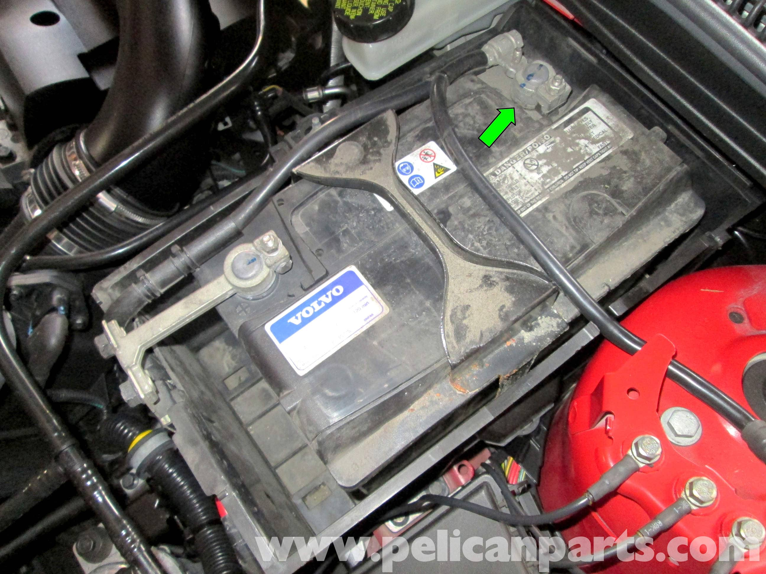 volvo c30 battery replacement 2007 2013 pelican parts. Black Bedroom Furniture Sets. Home Design Ideas