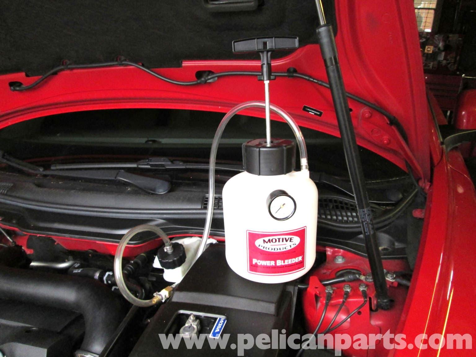 Volvo C30 Brake Bleeding 2007 2013 Pelican Parts Diy