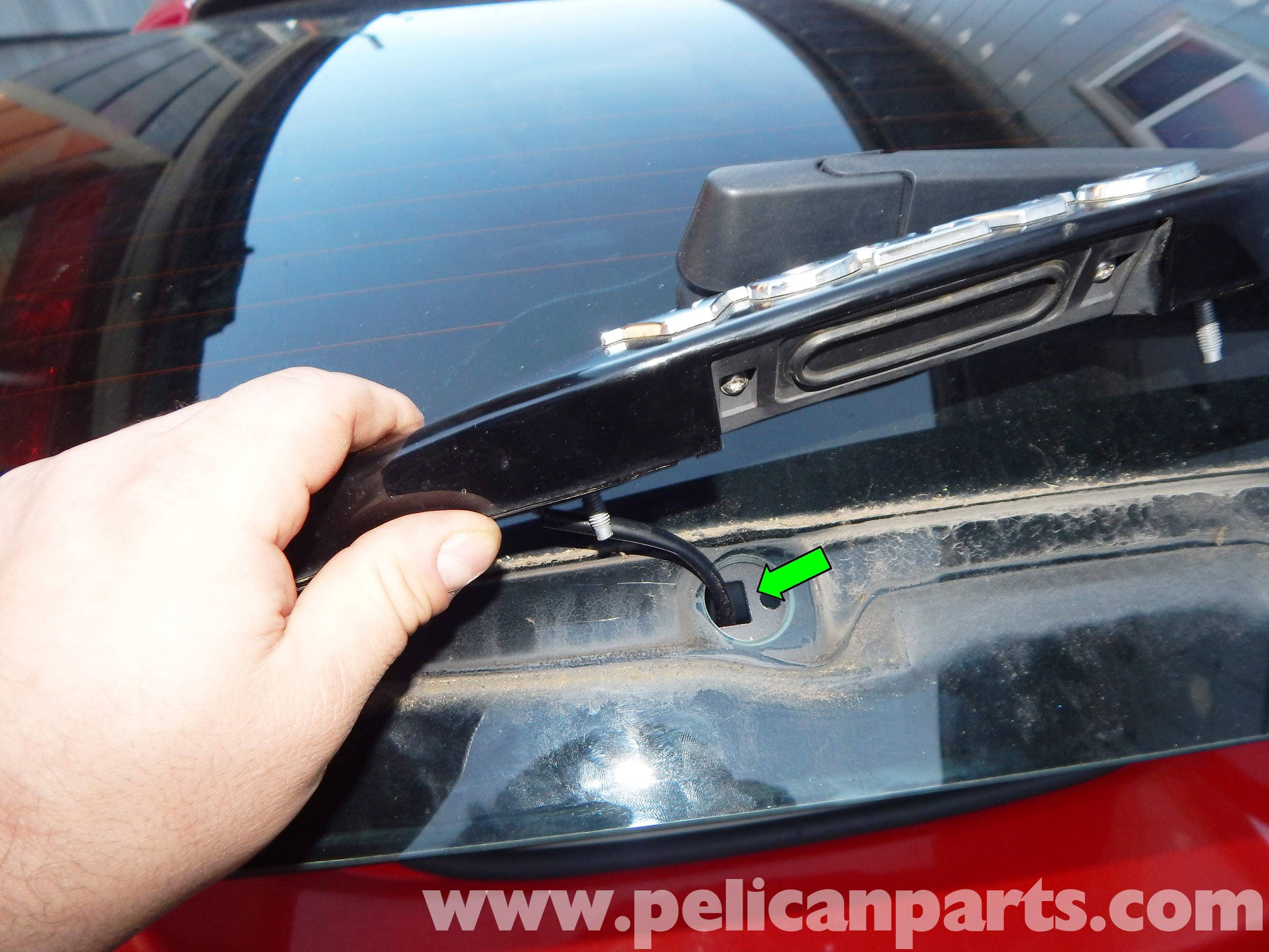 Volvo C30 Rear Hatch Switch Replacement | C30 (2007-2013) | Pelican Parts DIY Maintenance Article