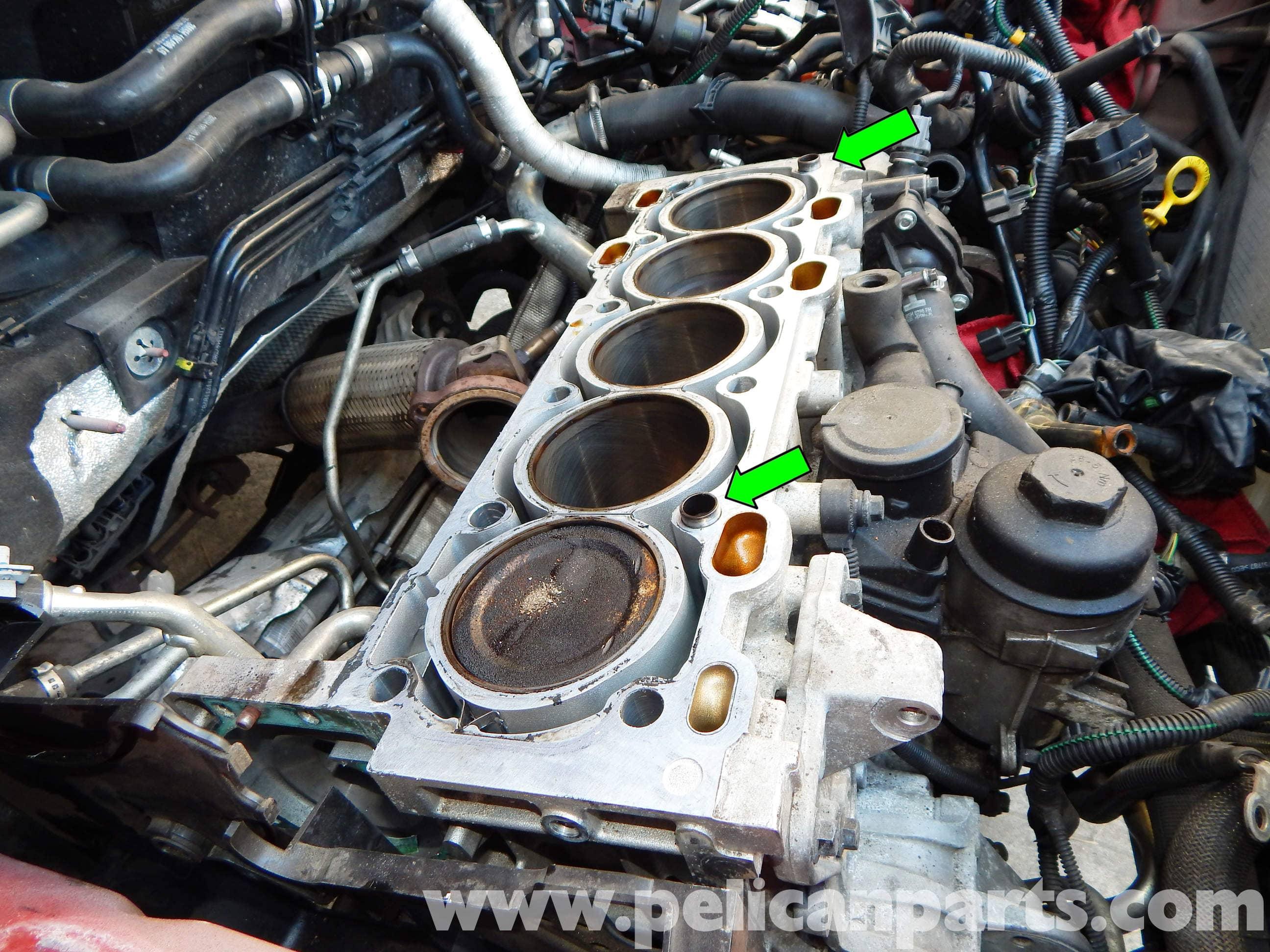 Volvo C30 Cylinder Head Gasket Replacement | C30 (2007 ...
