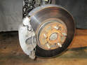 Left and Right Sides - Here is the complete front brake assembly on your Volvo C30.