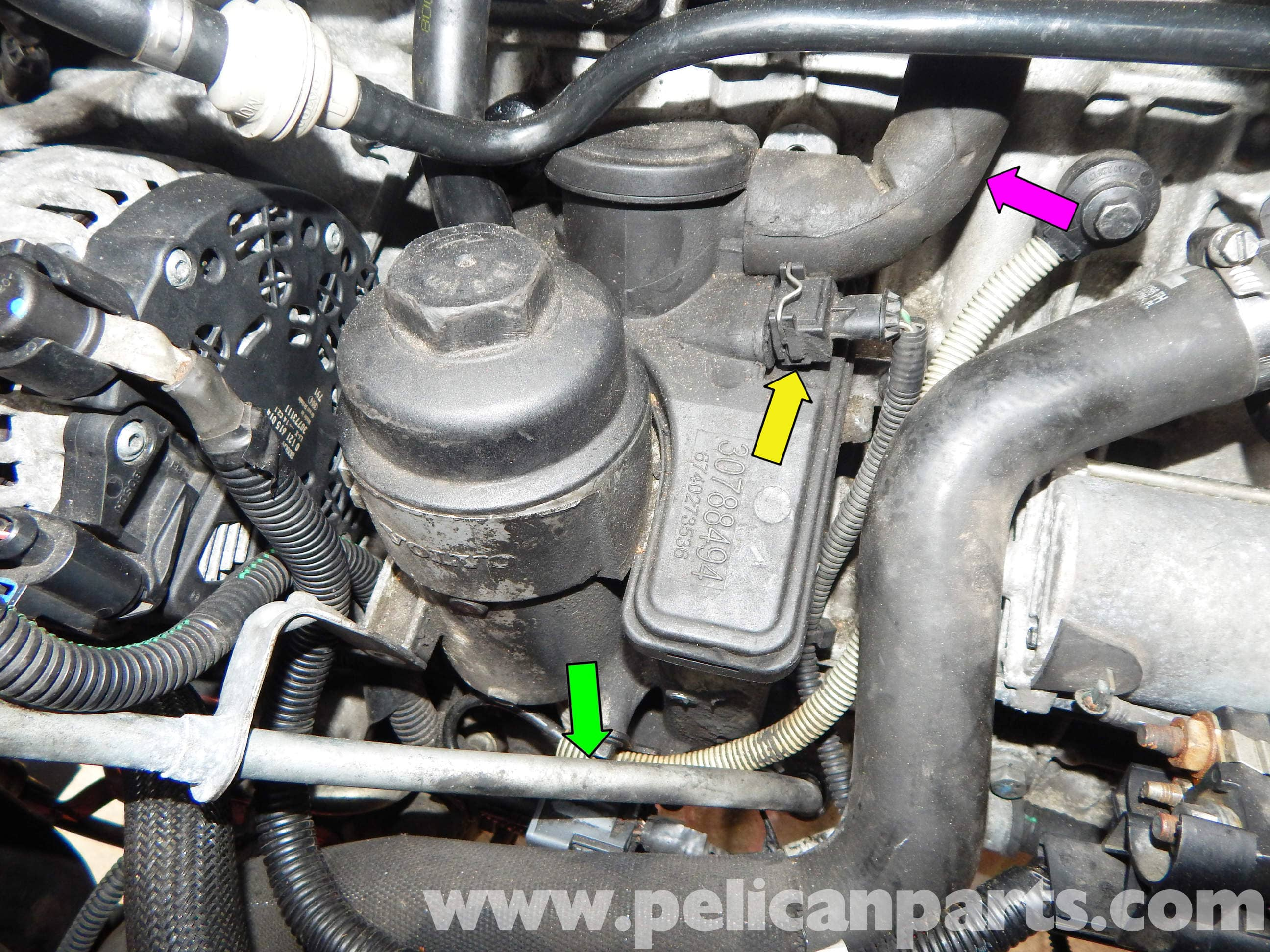 Volvo C30 Oil Filter Housing Replacement | C30 T5 (2008-2013), C30 ...