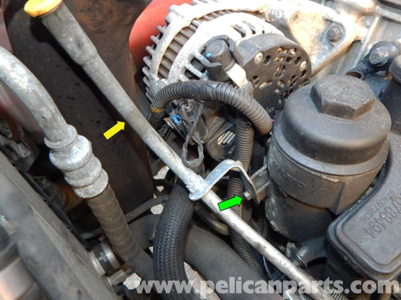 Volvo C30 Oil Filter Housing Replacement C30 T5 2008