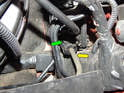 Clutch Master Cylinder: Start by disconnecting the pressure line to the CMC.