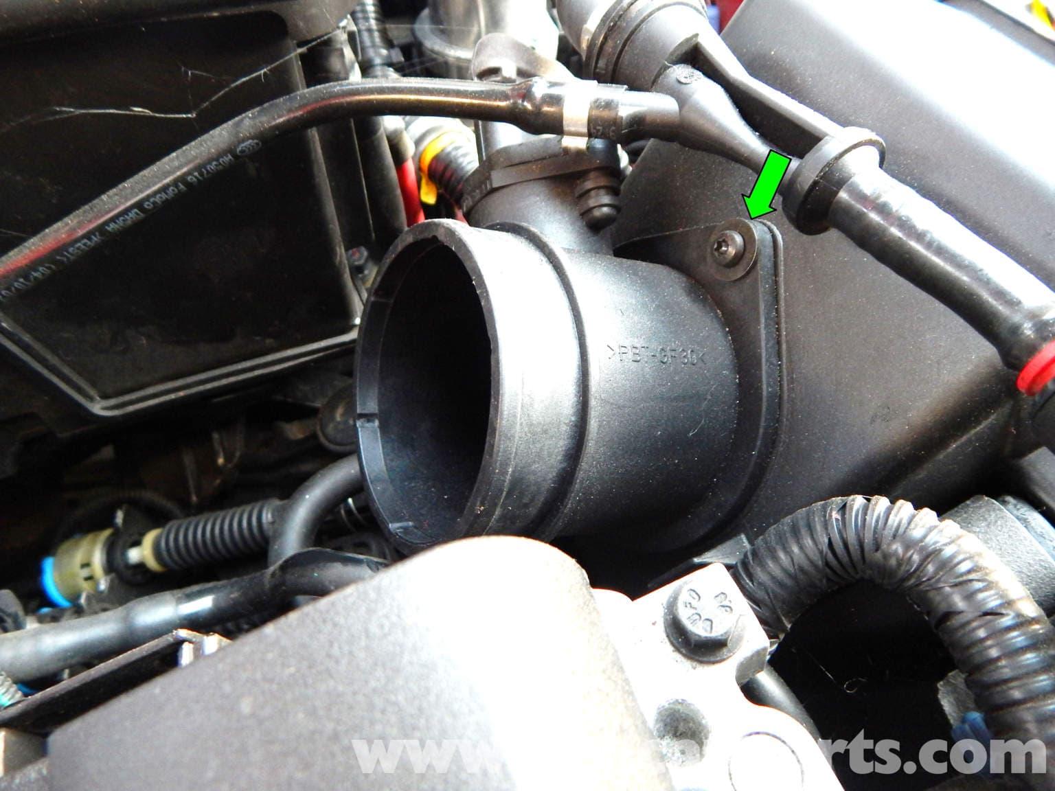 Volvo C30 Mass Air Flow (MAF) Sensor Replacement (2007-2013) - Pelican Parts DIY Maintenance Article