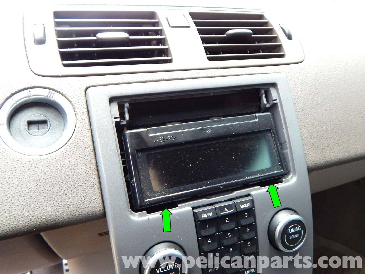 Volvo C30 Stereo Removal (2007-2013) - Pelican Parts DIY Maintenance Article