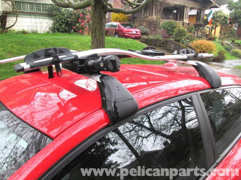 Volvo C30 Roof Rack Installation 2007 2013 Pelican Parts Diy Maintenance Article