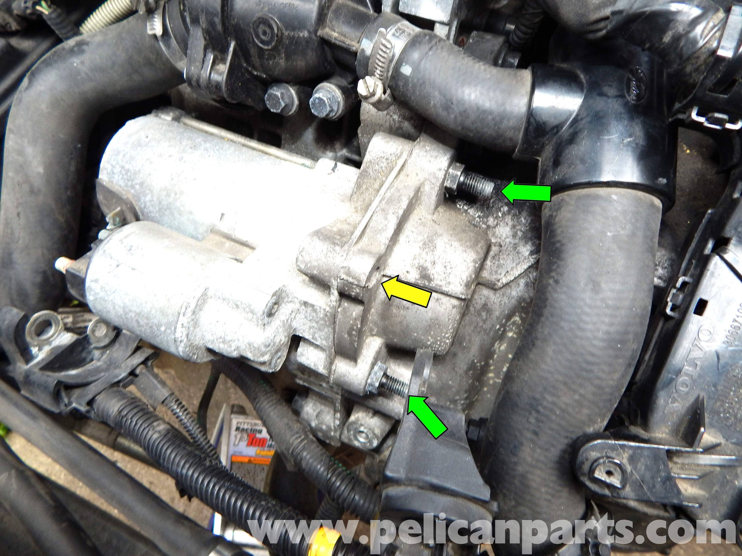 Volvo C30 Starter Replacement