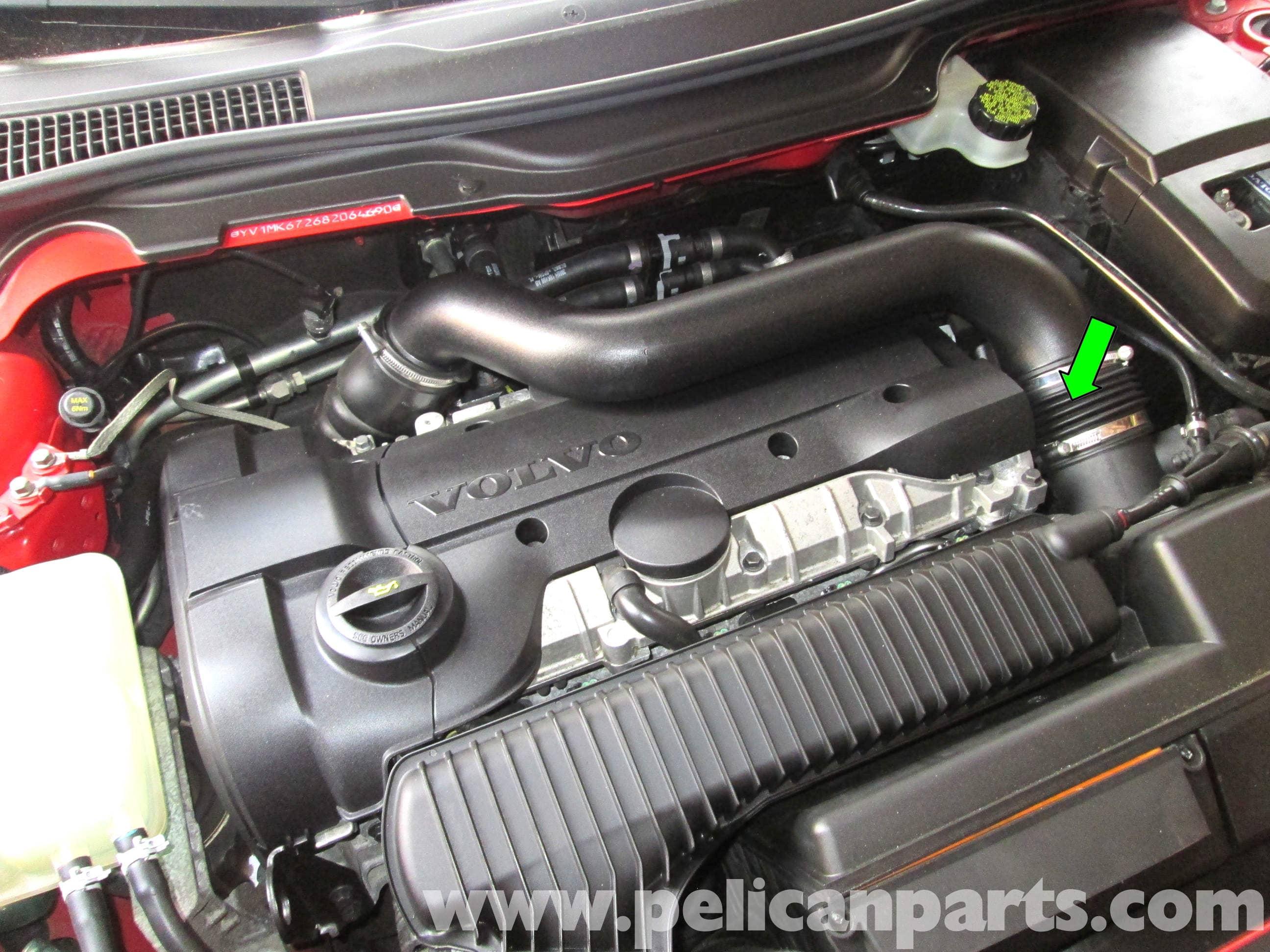Volvo C30 Crankshaft Position Sensor Replacement (2007 ...