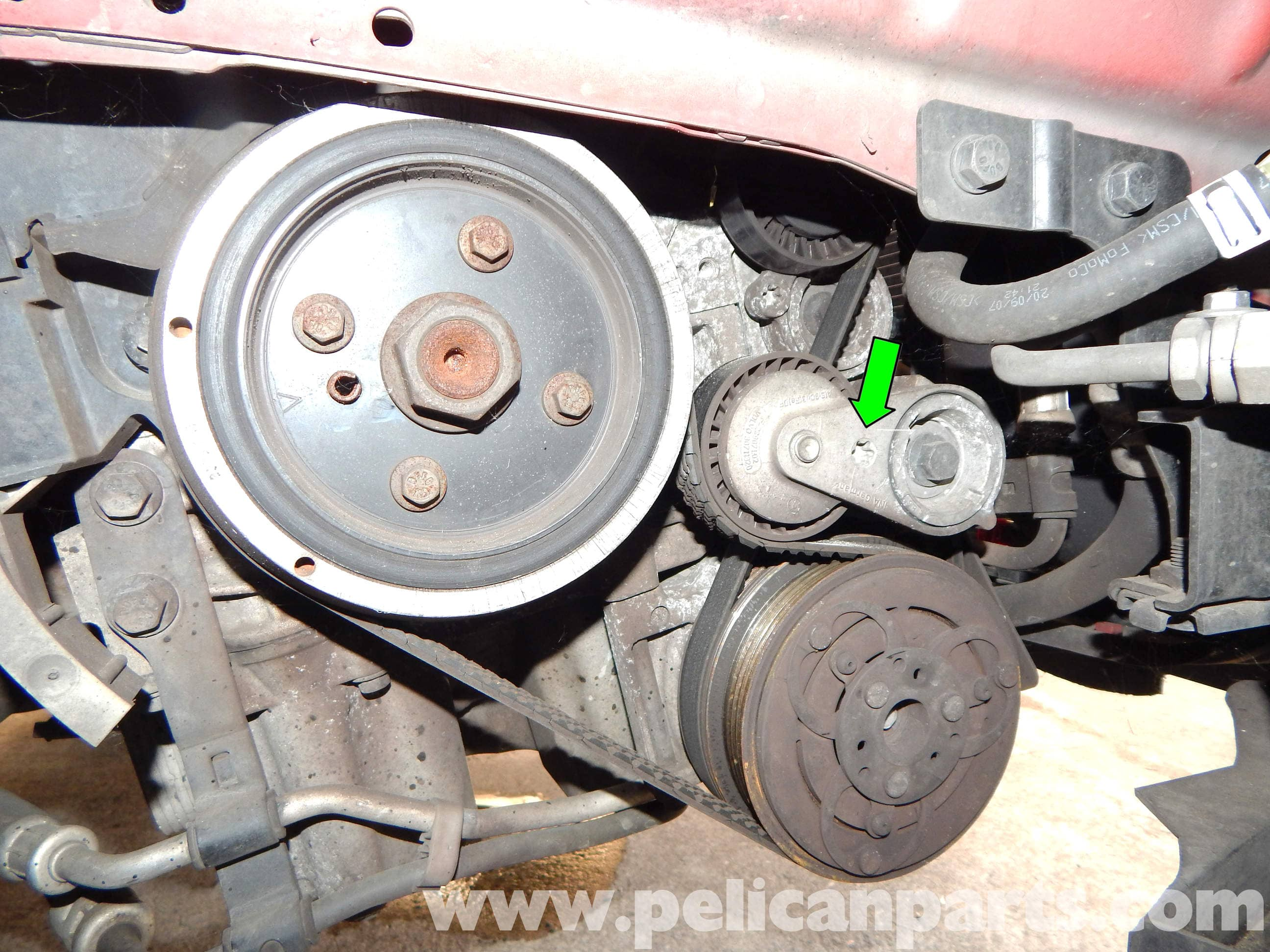volvo c30 belt and tensioner replacement (2007 2013) pelican parts 2013 buick verano large image extra large image