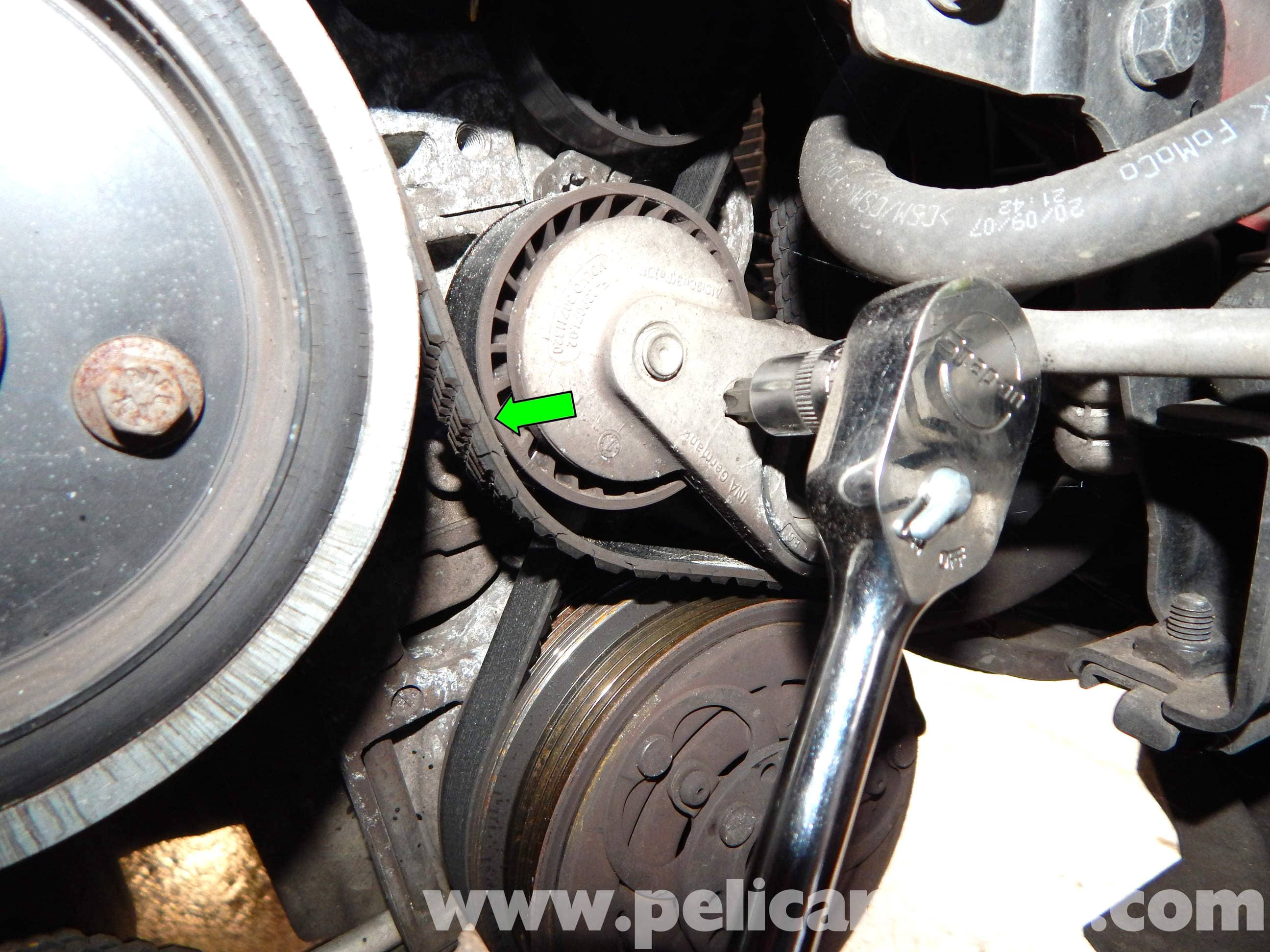 Volvo C30 Belt and Tensioner Replacement (2007-2013