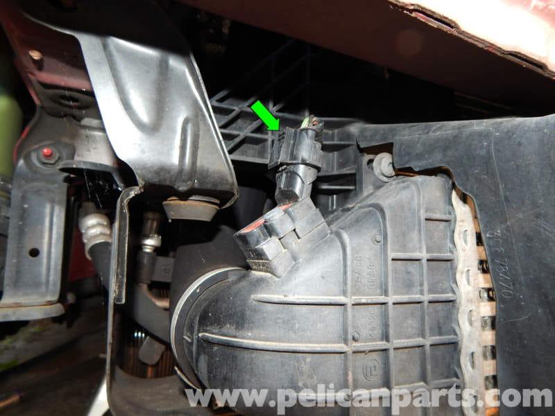 Volvo C30 Boost Pressure Sensor Replacement 2007 2013