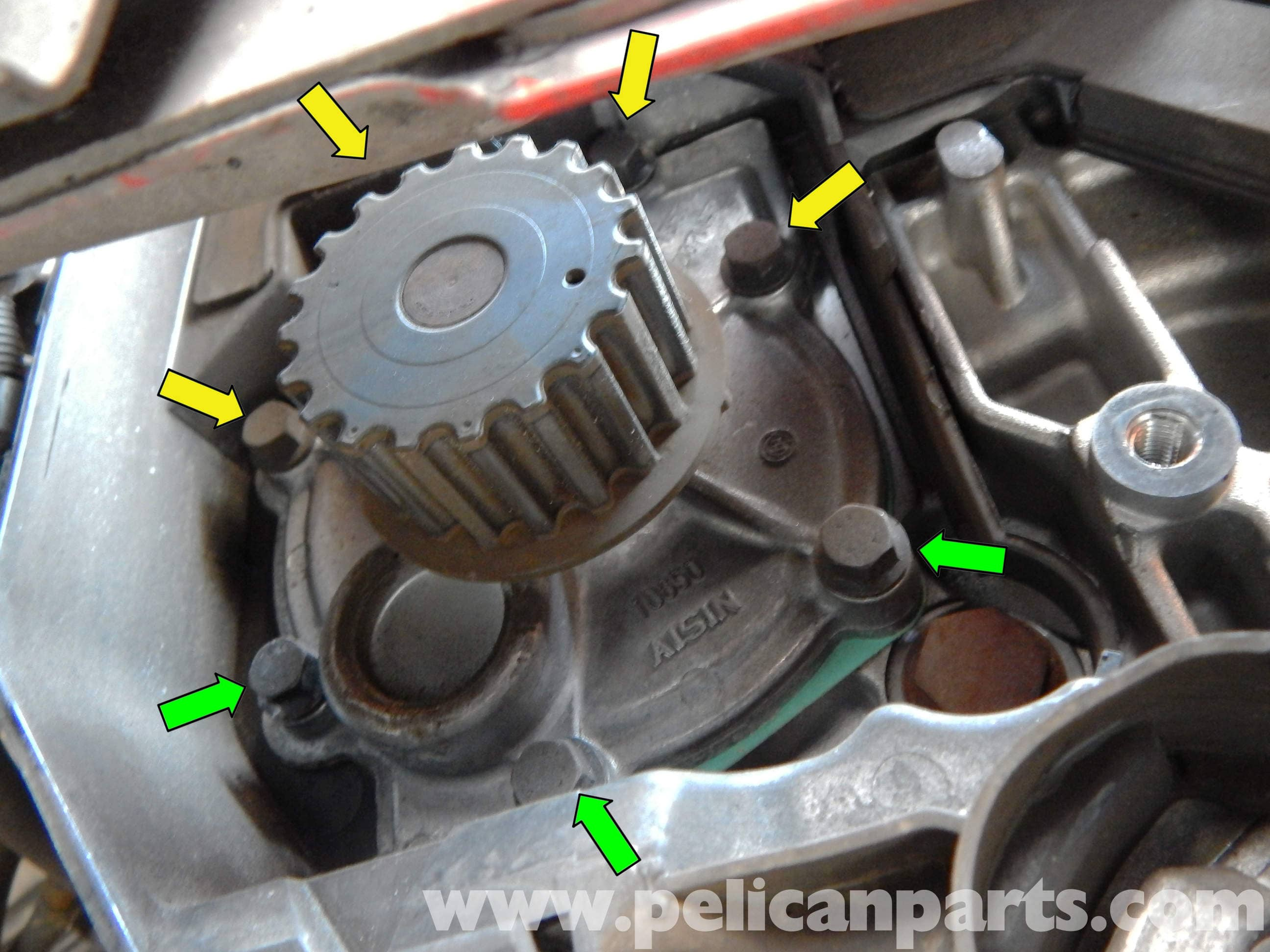 Volvo C30 Water Pump Replacement (2007-2013) - Pelican Parts DIY