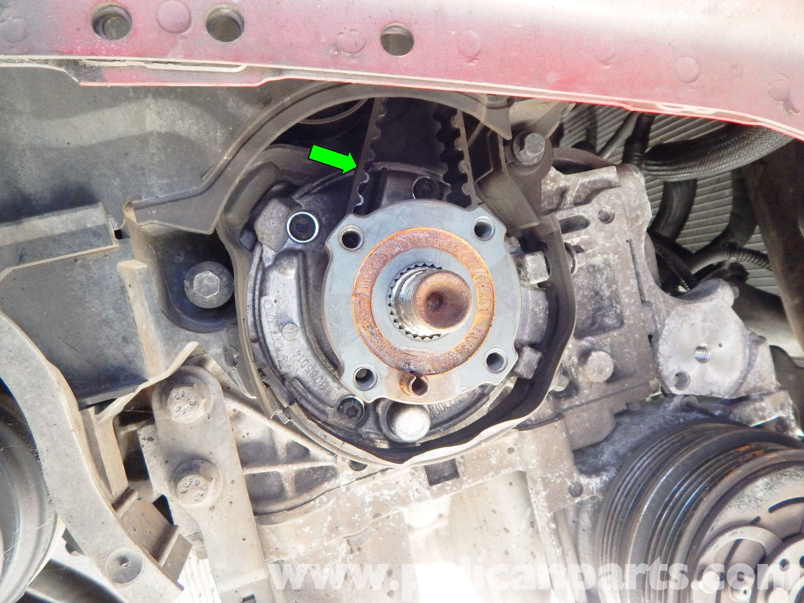 Volvo C30 Timing Belt Replacement 2007 2013 Pelican Parts Diy On 2003 Saab Large Image Extra
