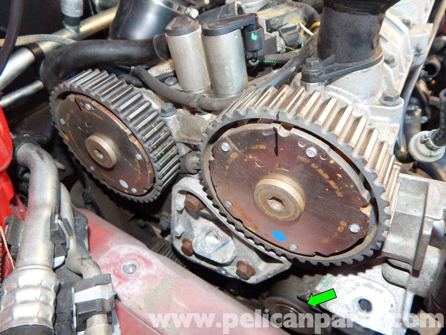 Pic on Volvo Timing Belt
