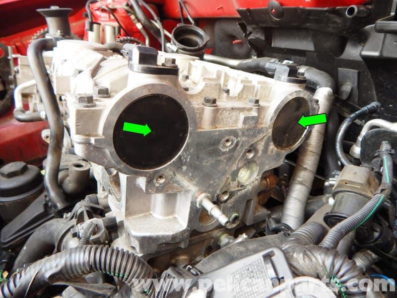 Volvo C30 Vvt Unit Removal