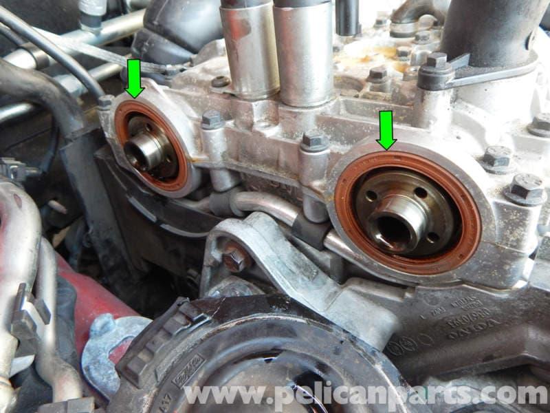 Volvo C30 VVT Unit Removal   C30 T5 (2008-2013), C30 T5 R-Design (2008-2013)   Pelican Parts DIY ...