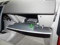 Remove the rubber tray from the bottom of the glove box.