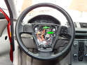 Here is the steering wheel with the airbag removed.