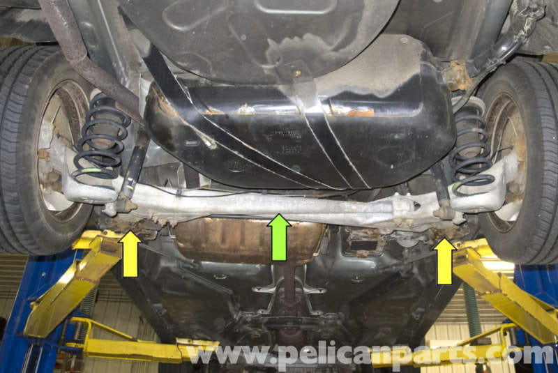 Volvo V70 Jacking Up Your Vehicle (1998-2007) - Pelican Parts DIY Maintenance Article