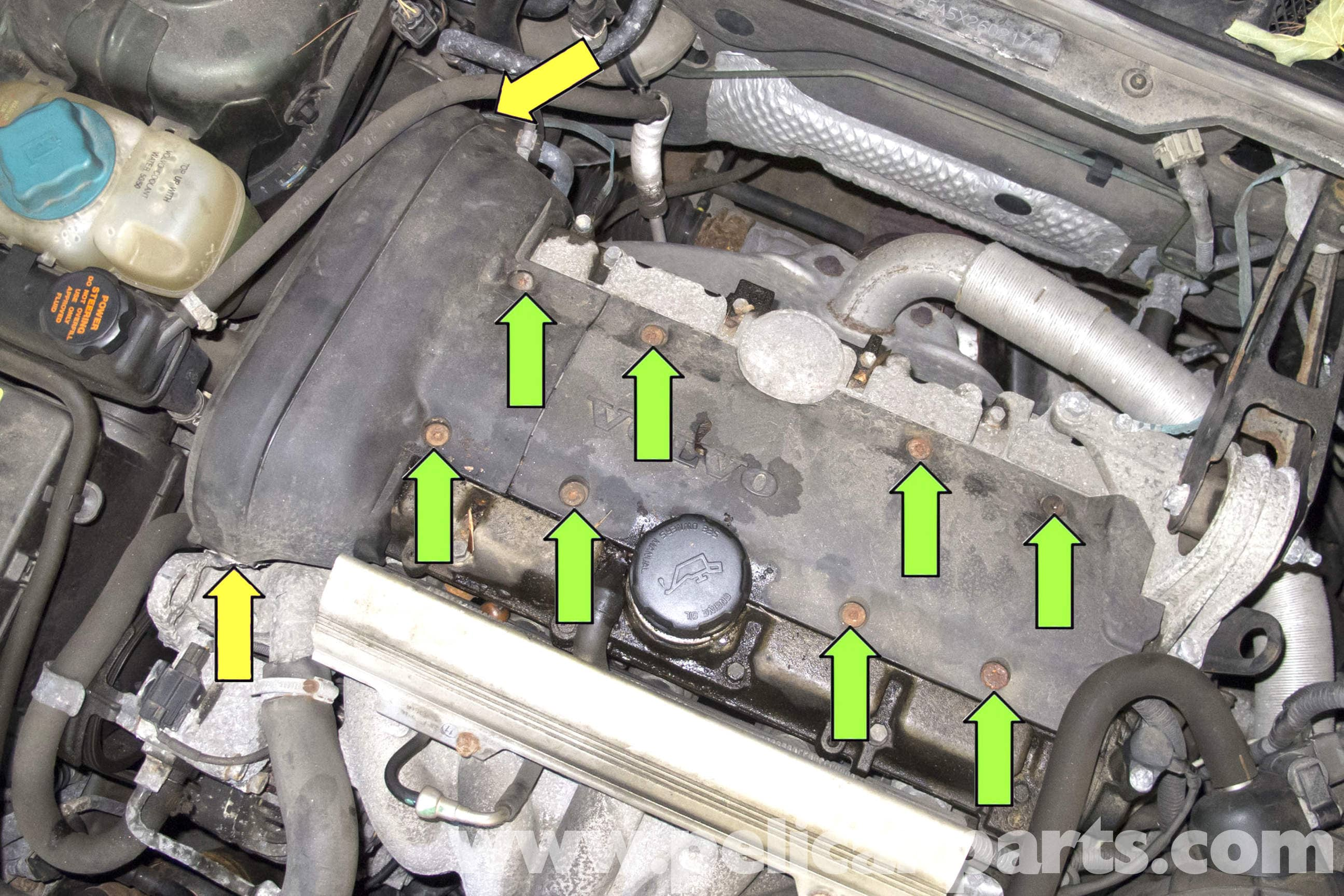 Volvo V70 Engine Diagram Spark Plug Bookmark About Wiring 2007 Xc70 Coil Replacement 1998 Pelican Parts Rh Pelicanparts Com Thermostat Racing Plugs