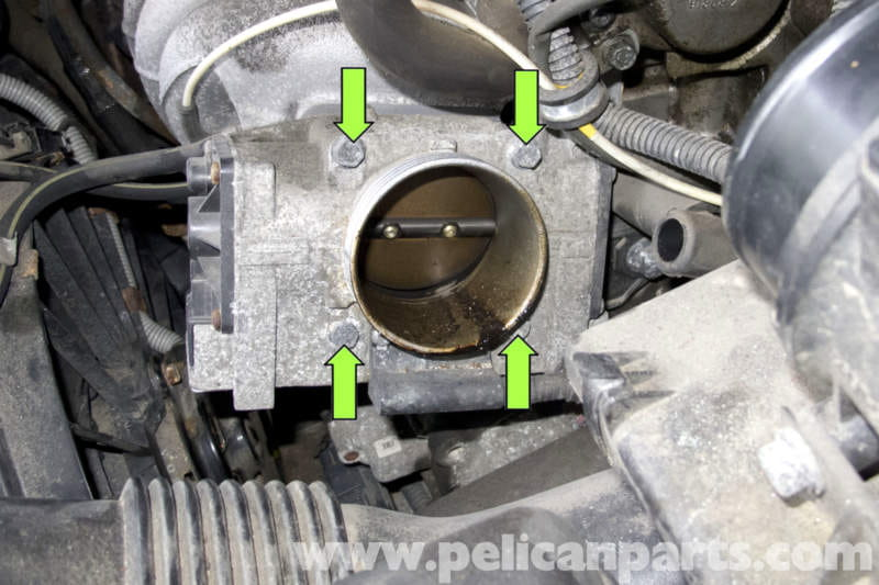 Volvo V70 Throttle Housing Replacement 1998 2007
