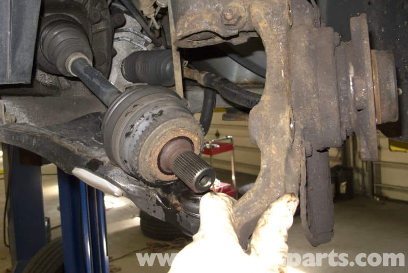 Volvo V70 Front Wheel Bearing Replacement 1998 2007
