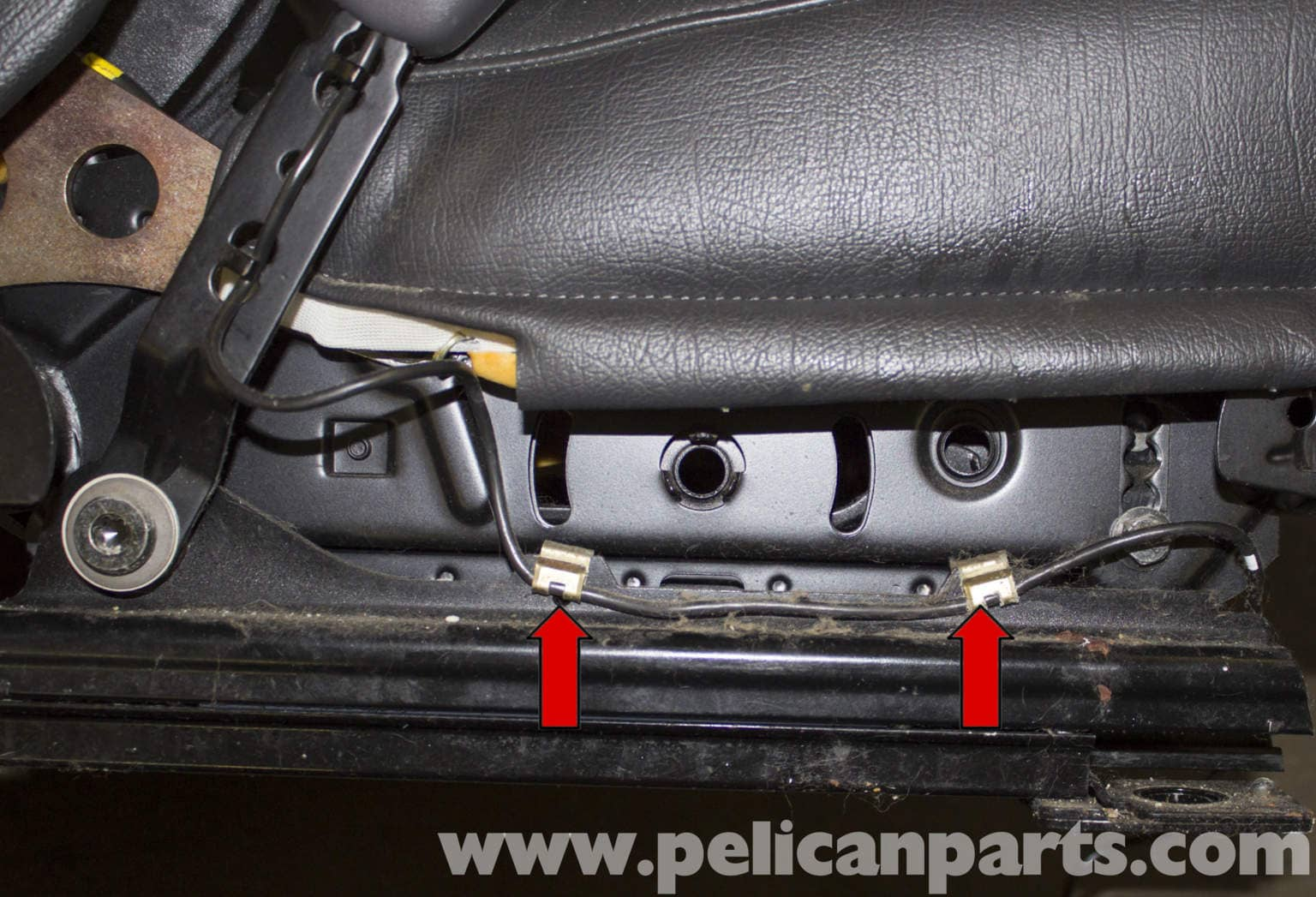 Volvo V70 Front Seat Belt Buckle Replacement (1998-2007) - Pelican Parts DIY Maintenance Article