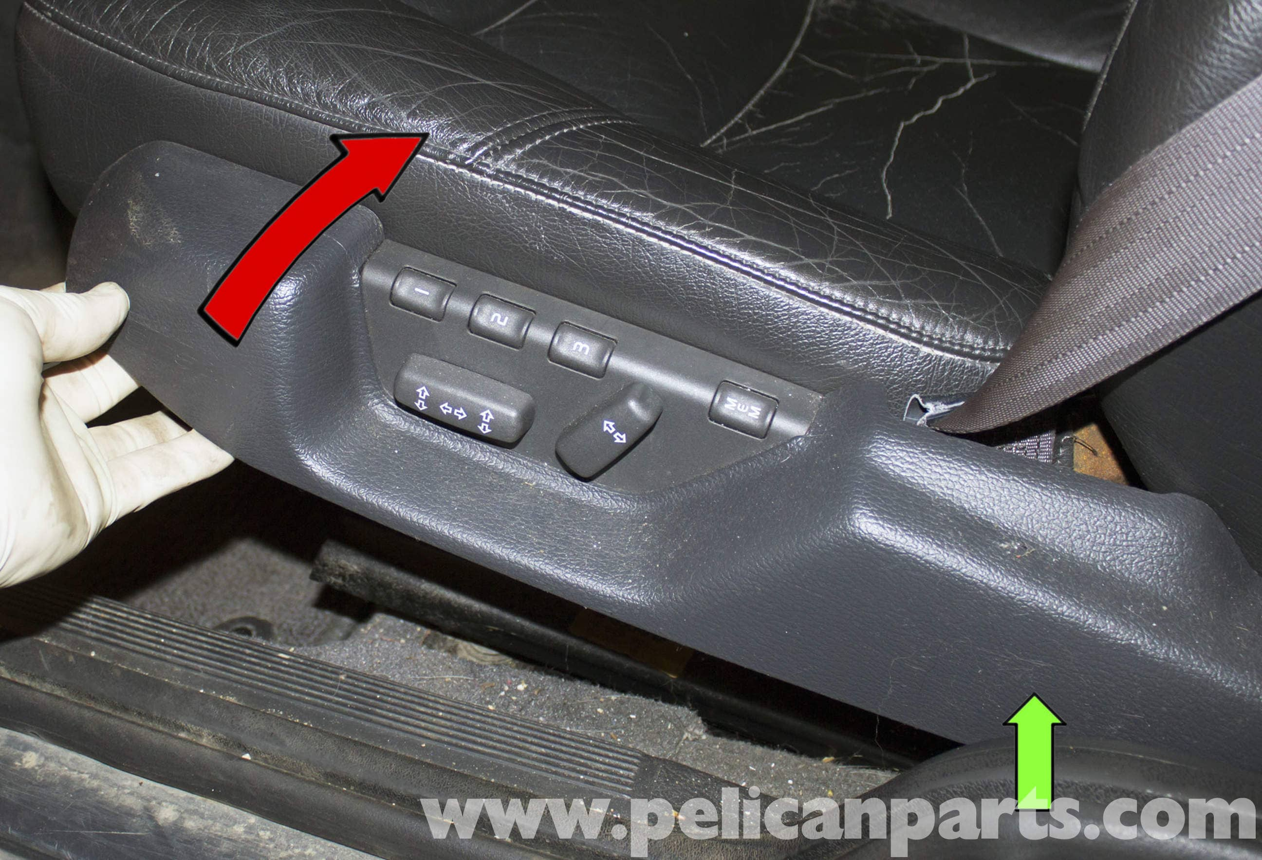 Volvo V70 Seat Switch Replacement (1998-2007) - Pelican Parts DIY ...