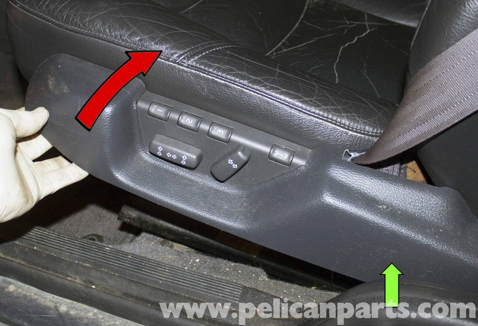 Volvo V70 Seat Switch Replacement 1998 2007 Pelican